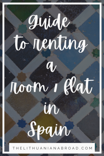 How to rent a flat in Spain