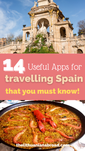 apps for travelling spain