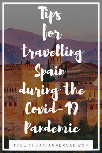 travel spain during pandemic